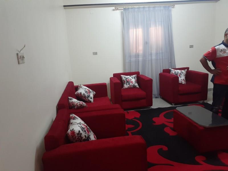 للايجار  شقة مفروشة ٣ غرف وصالة